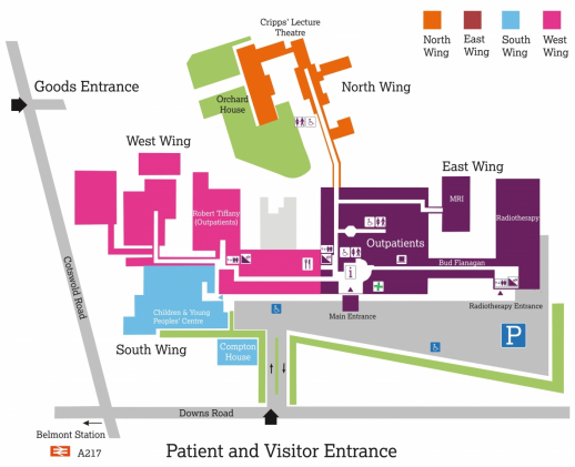 St Helier Hospital Map How to get to The Royal Marsden in Sutton | The Royal Marsden NHS